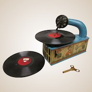 Rare Niftyola Toy Phonograph
