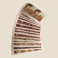 49 Stereoscoptic Viewing Cards