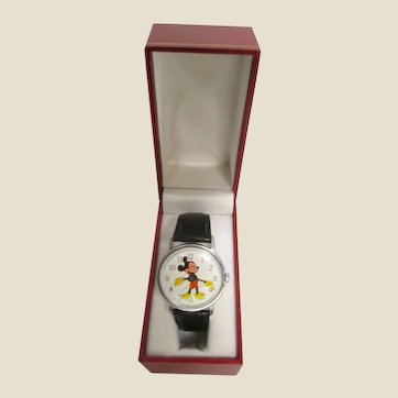 Genuine Vintage Mickey Mouse Watch