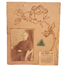 1908 Hand Made Calendar