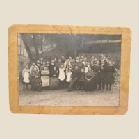 Wedding Photocard Circa 1910/14