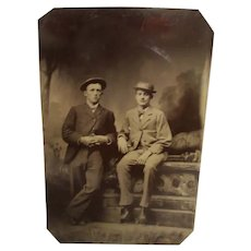 Two Tintypes Circa 1900