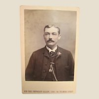 Set of 3 Cabinet Cards