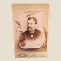 Pair of Cabinet Cards