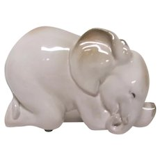 Russian Porcelain Elephant