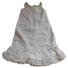 Soft Cotton Period Full Slip With Lace