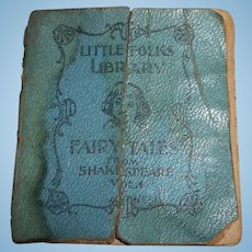 Old Doll Size Book Free Shipping