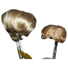 2 Blonde Replacement Wigs Free Shipping