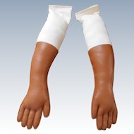 Large Leather Replacement Doll Arms