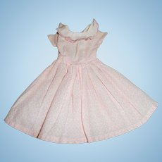 Small Pink Cotton Doll Dress