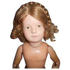 Vintage Braided Doll Wig