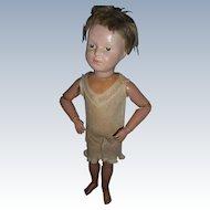 Antique Wood Schoenhut Doll To Restore