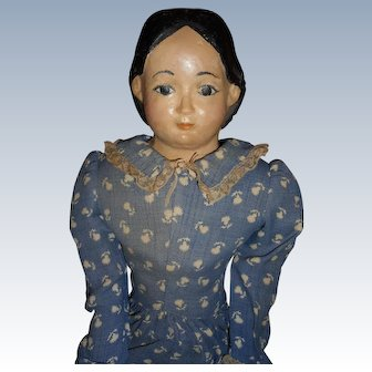 Antique Greiner Doll For Restoration