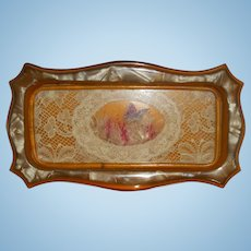 Miniature Doll Size Pin Tray Vanity Tray
