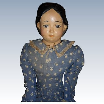 Antique Greiner Doll For Repair Original Dress And Unders SPECIAL SALE $89