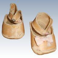 Vintage Cloth Center Snap Shoes