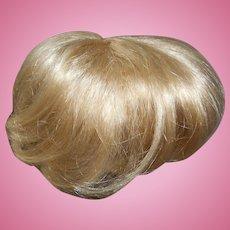 Light Blonde Wavy End Doll Wig Full Cap