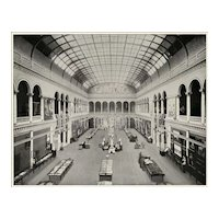 1893 World Columbian Exposition Interior of Woman's Building by W.H. Jackson