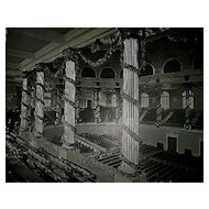 1893 World's Columbian Exposition Interior of Choral Hall by W.H. Jackson
