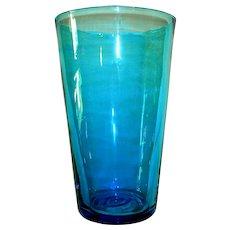 Mid-Century Modern Blenko Beaker Art Glass Vase