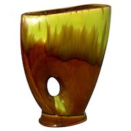 Royal Hickman Florida Large Pierced Gladiola Vase