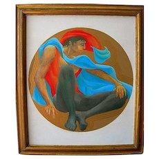 Figure of a Man by Artist Robert Kushner
