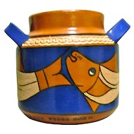 Vintage Mexican Folk Art Pot by Grand Master Pedro Ruiz M.