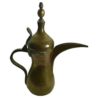 Arabian Dallah, Bedouin Coffee Pot