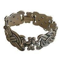 William Spratling Taxco Iconic Sterling Silver Fertility Bracelet c. 1970s