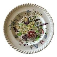 Vintage Garden Bouquet Windsor Ware Johnson Bros England Dessert Plate.