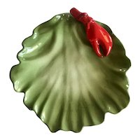 Vintage Brad Keeler California Pottery Lobster Plate