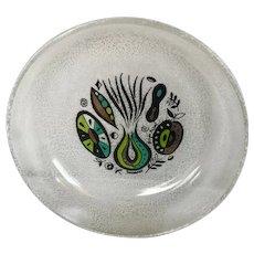 Vintage Rare Pattern Georges Briard Mid Century Glass Bowl