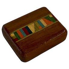"Artisan Handcrafted Wood ""Magic"" Box"