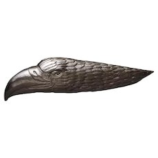 Batle Studio San Francisco Graphite Object Eagle Sculpture