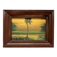 Isaac Knight Florida Highwaymen Landscape Painting