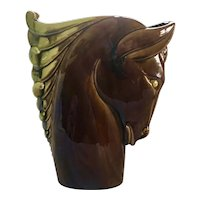 Royal Hickman Florida Horse Head Vase From the Ed Blas Collection