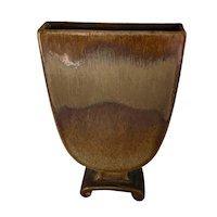 Cowan Art Deco Vase in the October Glaze