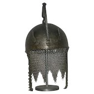 1800's, Indo Persian Steel War Helmet