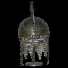 1800's, Indo Persian Steel War Helmet