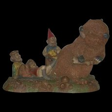 Large, 1993, Tom Clark Gnome, Tailgate Party