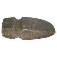 Large, Native American, 3/4 Groove Stone Axe