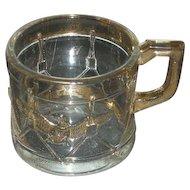 Westmoreland, Drum & Eagle, Gold Trimmed Child's Mug
