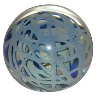 Signed, #'d, Limited Edition, 1981, Art Glass Paperweight