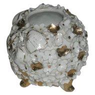 1800's, Gold Decorated, Miniature, Porcelain Rose Bowl