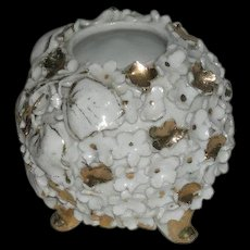 1800's, Gold Decorated, Miniature, Porcelain Rose Bowl