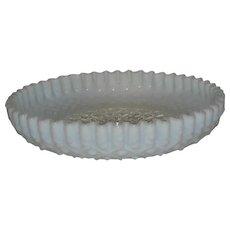 Fenton, French Opalescent, Diamond Lace Console Bowl