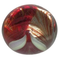 Signed, 1977, W.E. Porter, Art Glass Paperweight