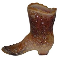 Fenton, Chocolate Slag, Daisy & Button Boot
