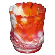 Imperial, Red Slag, 3-N-1 Toothpick Holder