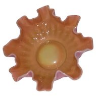 New Martinsville, Muranese, Peach Blow, Small Berry Bowl